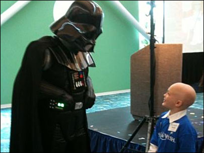 'I fought Darth Vader for a second time'