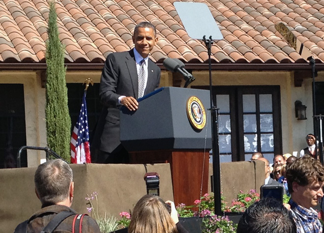President Obama designates Cesar E. Chavez National Monument