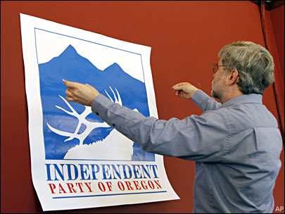 For voters who hate parties, Oregon has a party