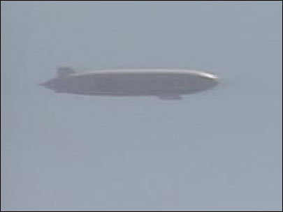 Identified Flying Object: World&#39;s largest airship soars over Oregon