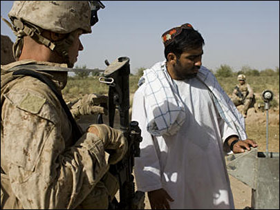 Marines in Afghanistan flex military and municipal might
