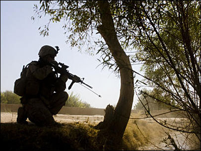 Firefight with Taliban 'all in a day's work'