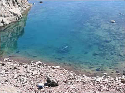 Car tumbles into Oregon's Crater Lake