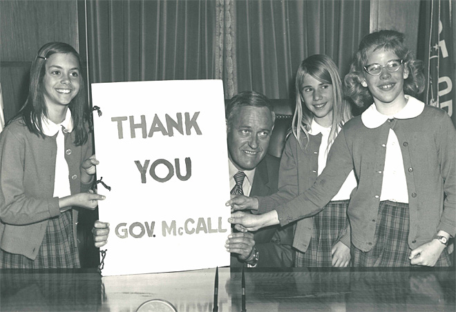 100th anniversary of birth of Oregon Governor Tom McCall