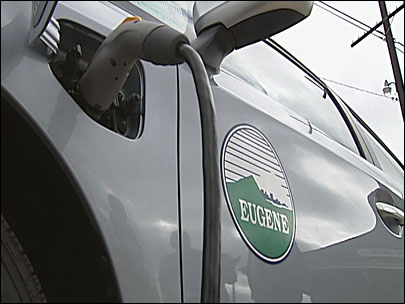 Plug-in hybrid or all-electric? Eugene tests motor pool of the future