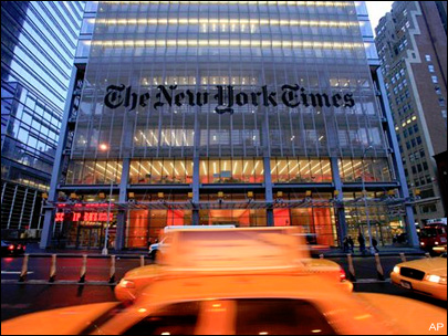 NY Times site inaccessible for 2nd time in one month
