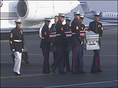 Marine killed in Afghanistan brought home to Oregon