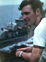 On Board the USS America in 1970