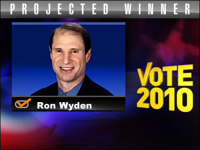 Wyden holds Senate seat