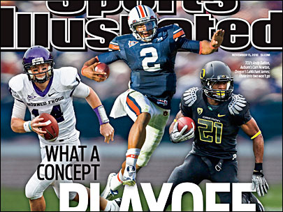 Oregon's LaMike on cover of this week's SI