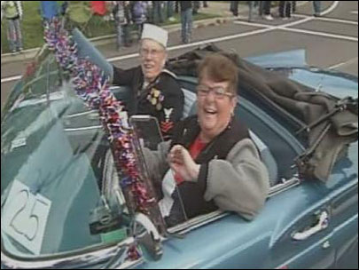 Albany Veterans Day Parade 'gives me warm and fuzzies'