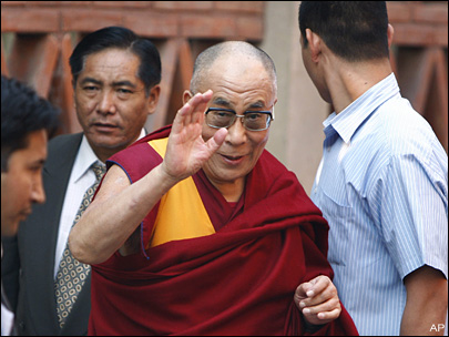 Chinese website: Dalai Lama has 'Nazi' policies