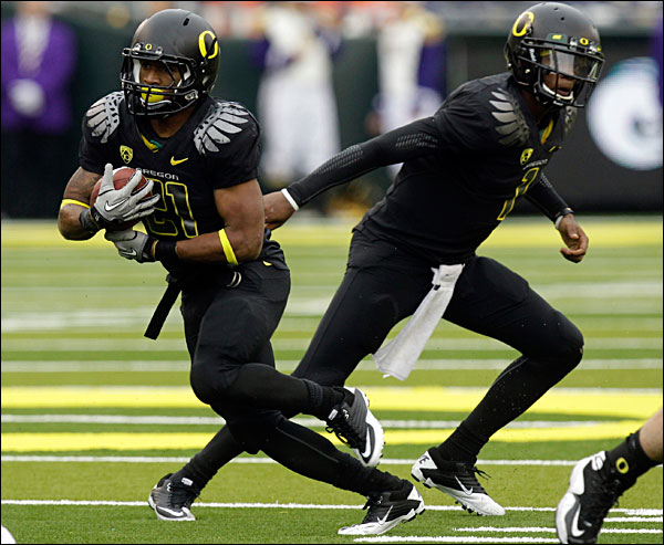 Oregon superheroes: LaMike and DT a dynamic TD duo