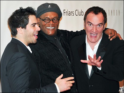 Tarantino roasted by Jackson at Friars Club