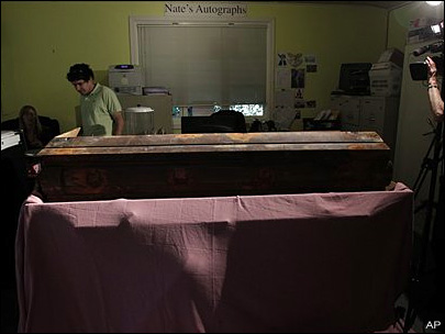 JFK assassin's first coffin goes on auction block