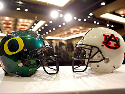 Oregon, Auburn take different paths to the BCS