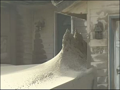 Sand trapped: 'If you were to leave this ... it would cover the houses'