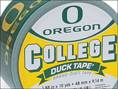 College's top teams stuck on Duck Tape