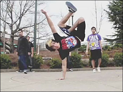 B-boy: 'You really have to pursue your passions in life'