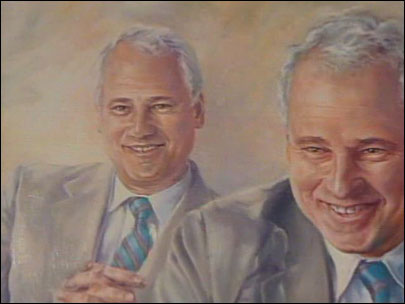 Former governor's portrait removed from Oregon Capitol