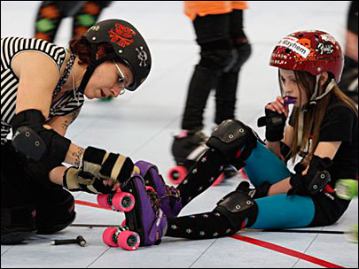 Roller derby grooms girls for sports - and life