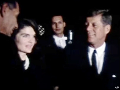 Home movie of President Kennedy given to museum