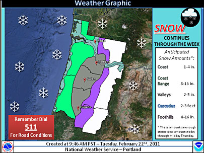 Oh, snow! Storm watch upgraded to winter storm warning