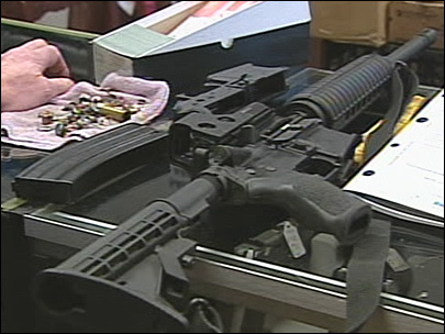 Governor open to restrictions on assault weapons