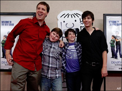 'Wimpy Kid' rules weekend with $24.4 million opening