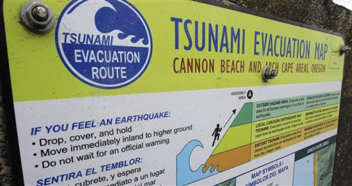 West Coast Tsunami