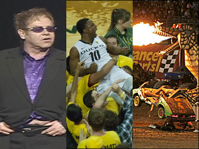 The many faces of Matthew Knight Arena