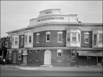 Photo shows a building in the historic district of altoona pa