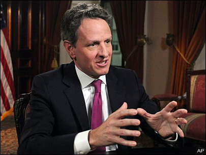 Geithner: Work remains despite U.S. fiscal progress