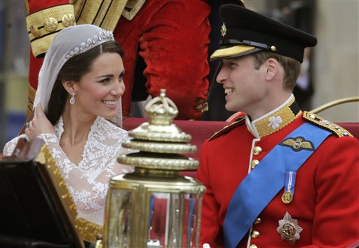 APTOPIX Britain Royal Wedding