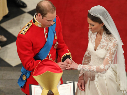 William and Kate married amid worldwide celebration