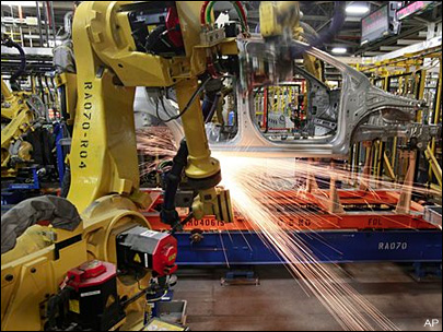 US manufacturing sector shrank for second month