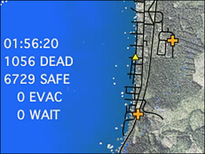 Who lives and who dies in an Oregon tsunami?