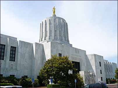 Suspicious powder at Oregon State Capitol not hazardous