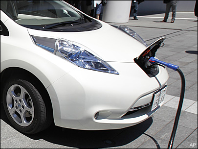 Electric-car owners in Wash. face $100 annual fee