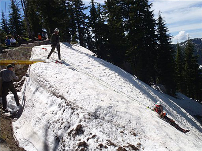 Photos: Rangers rescue man from Crater Lake