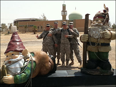 Oregon 'Combat Gnomes' deploy to Iraq, Afghanistan