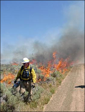 Firefighters to burn more acres of Oregon grassland