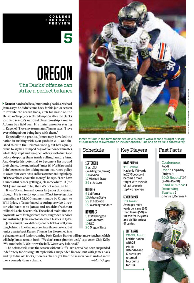 SI: Oregon v. Stanford biggest game in college football