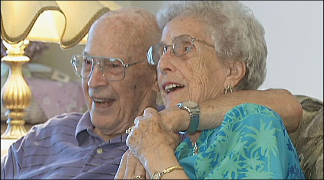 'It's been a honeymoon': Couple celebrates 78th anniversary