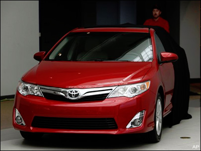 Toyota Camry sales rise, attracting younger buyers