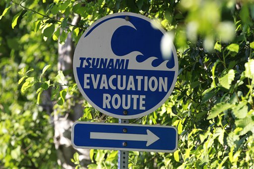 Tsunami Evacuations 