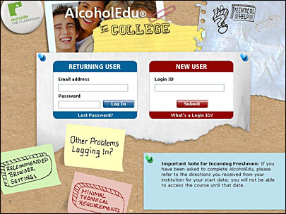 Under 21? UO has AlcoholEdu for you