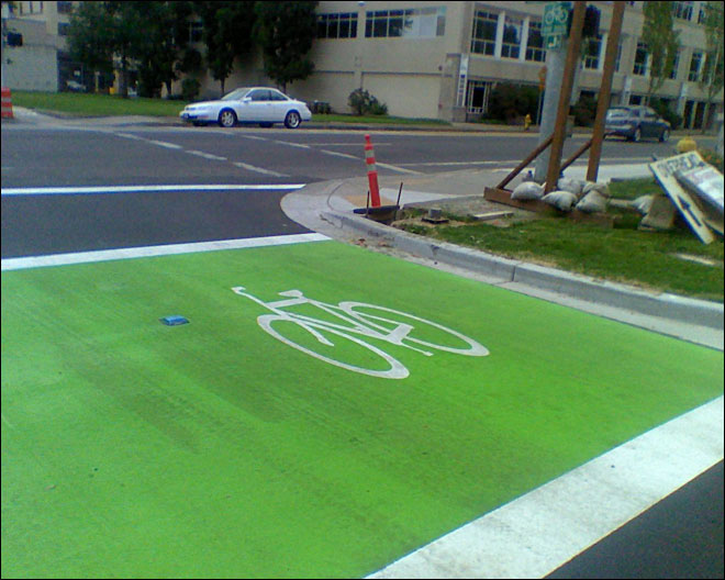 Green boxes new tool for bike safety