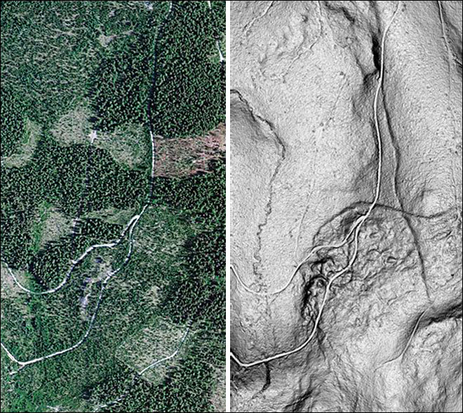 Airborne geologists uncover Oregon's hidden faults
