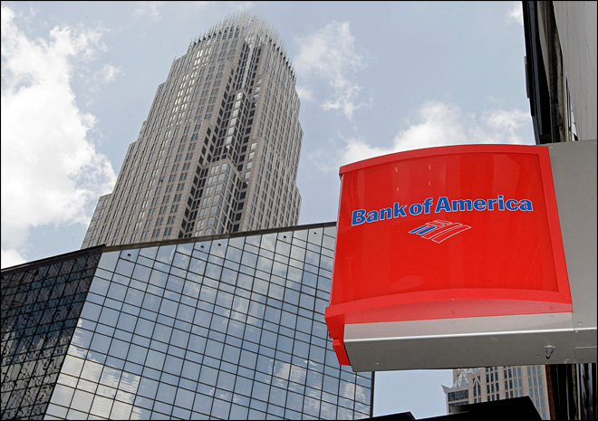 BofA's earnings shrink on mortgage settlements